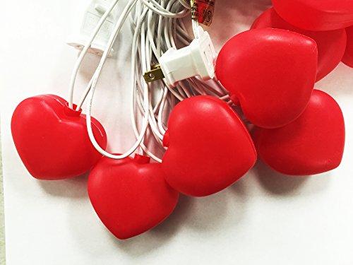 Heart Shape Wire - 20ct 2.25