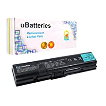 UBatteries Laptop Battery Toshiba Satellite L500-038 L500-076 L500-080 L500-092 L500D-00F L500D-00L L500D-00T L500D-00U L500D-00V L500D-00X - 6 Cell, 48Whr