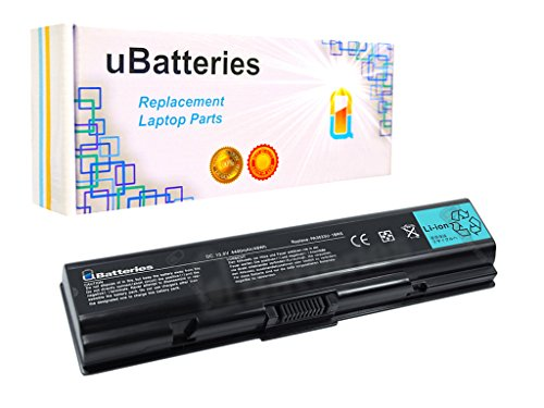L500 Series Battery - UBatteries Compatible 6 Cell 10.8V 48Whr Battery Replacement For Toshiba Satellite A200 A205 A210 A215 A300 A305 A350 A500 A505 A505D L300 L305 L450 L455 L500 L505 L550 L555 M200 M205 Series