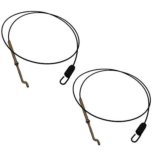 Two Stage Snowblower (746-0897 Two (2) Auger Clutch Cables For MTD Built 2 Stage Snowblowers)