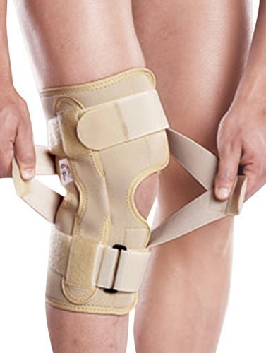 Tynor Oa Neoprene Knee Support - Medium (Left Varus / Right Valgus) by Tynor Orthotics Pvt. Ltd