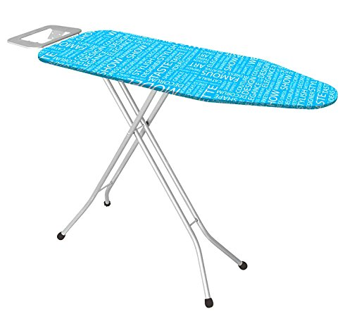 Uniware Turkey Ironing Board With Iron Rest, Large (Colors May Vary, 43 Inch) by UNIWARE