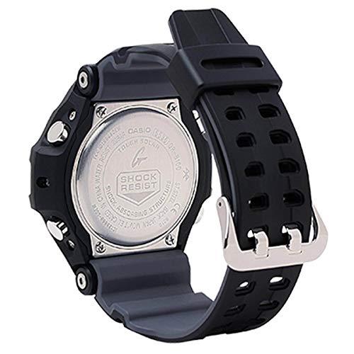 Casio GRB100-1A3 Gravitymaster Men's Watch Black 53.8mm Resin