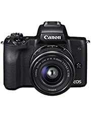 Canon EOS M50 Compact System Camera and EF-M 15-45 mm f/3.5-6.3 IS STM Lens