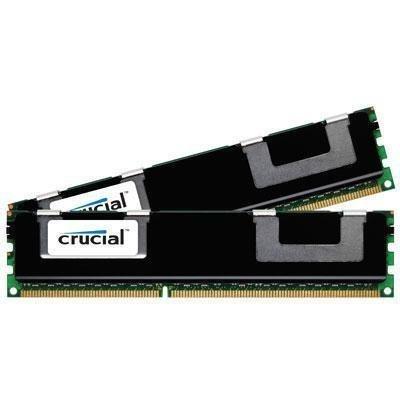 (CRUCIAL CT2KIT102472BB1339 PC3-10600R DDR3 1333 16GB ECC REG KIT (2 X 8GB) FOR SERVER)