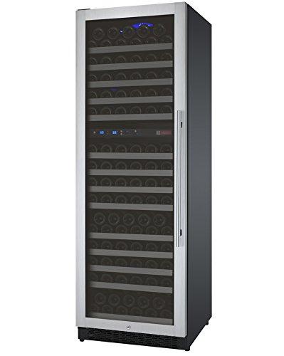 Cheap Allavino FlexCount VSWR172-2SSLN – 172 Bottle Dual Zone Wine Refrigerator with Left Hinge