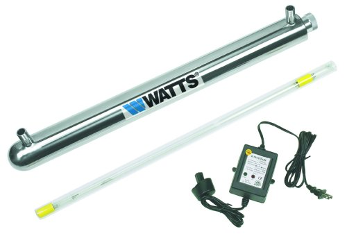 Watts 270152 6-GPM 3/4-Inch 110-Volt UV Disinfection System by Watts