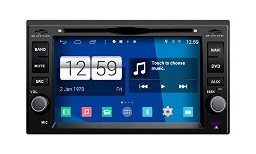 RoverOne Android 4.4.4 en el coche de la rociada DVD Sistema de navegación GPS para Kia Sportage Cerato Sorento Mañana Rio...