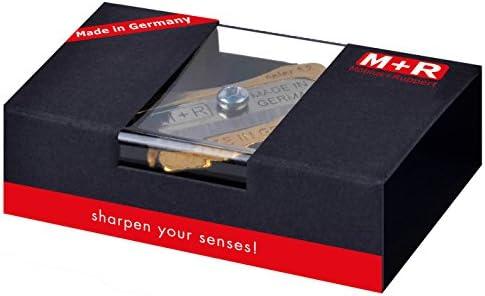 M + R 706141000 Sacapuntas doble latón regalo del paquete: Amazon.es: Oficina y papelería