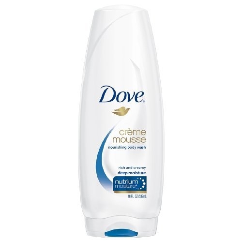 UPC 011111114241, Dove Creme Mousse Deep Moisture Body Wash - 18 oz