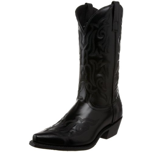 Laredo Men's Hawk 6860 Western Boot,Black,7.5 D US