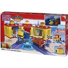 Mega Bloks (mega block) Chuggington Roundhouse Racing block toys (parallel import)