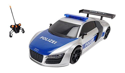 Dickie Toys 201119059 - RC Highway Patrol, funkferngesteuertes Polizeiauto inklusive Batterien, 28 cm