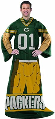 NFL Adult Full Body Player Design Comfy Throw