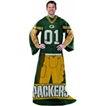"""NFL Full Body Player Adult Comfy Throw, 48"""" x 71"""""""