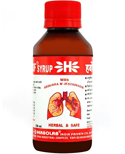 Dr. Vaidya's – Herbokof – Relief from Cough & Cold |100 ml | Non-Drowsy Cough and Chest Congestion Relief | Natural Relief from Common Cold