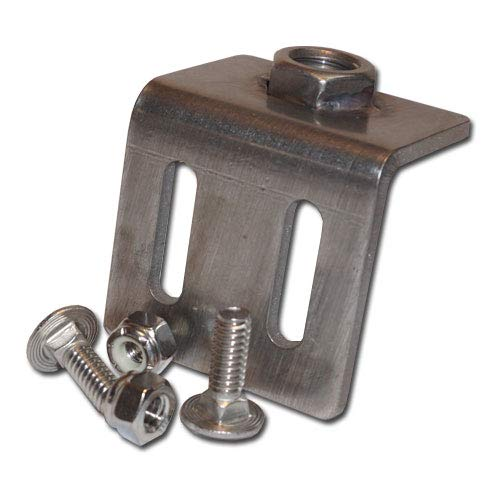 Monster Rod Holders Bases 2-Count Pack for Fishing rods. Made for Different Brands and Style of Boats in The USA (Slide Track 90-1/2