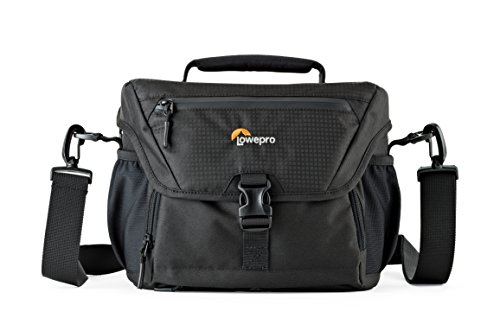 Lowepro Nova 180 AW. DSLR Shoulder Camera Bag for Pro-Depth DSLR with Attached 24-105mm Lens + 3-4 Extra Lenses, or Compact Photo Drone. (Video Lowepro Dslr)
