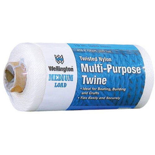 LEHIGH GROUP 10485 LEHIGH GROUP 10485 White Twisted Nylon Seine Twine, 1050 Ft.