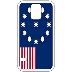 Easton Pennsylvania PA City State Flag White Samsung Galaxy S5 Cell Phone Case - Cover