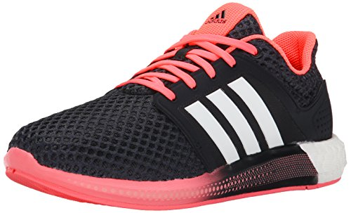 (adidas Performance Women's Solar Boost Running Shoe, Black/White/Pink, 10.5 M US)