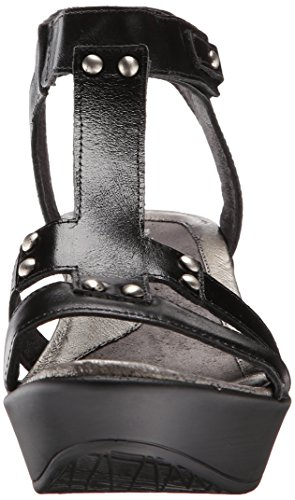 Womens Sandals Leather Naot Flirt Black nO4pxxw1Rq