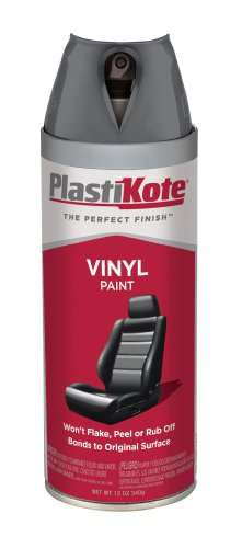 PlastiKote 408 Charcoal Gray Vinyl Paint, 12 oz. by PlastiKote