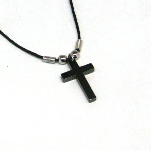 Fun Express Hematite Cross Necklaces (12 (Cross Necklaces Religious Jewelry)
