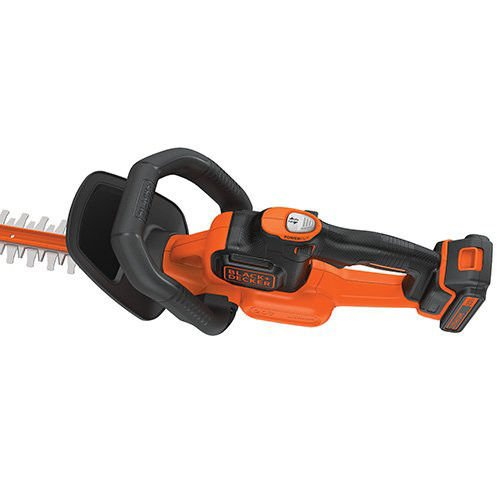 BLACK+DECKER LHT321R 20V MAX Cordless Lithium-Ion POWERCOMMAND 22 in. Hedge Trimmer (Certified Refurbished)