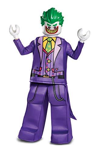 Disguise Joker Prestige Child Costume, Purple, Size/(4-6) ()