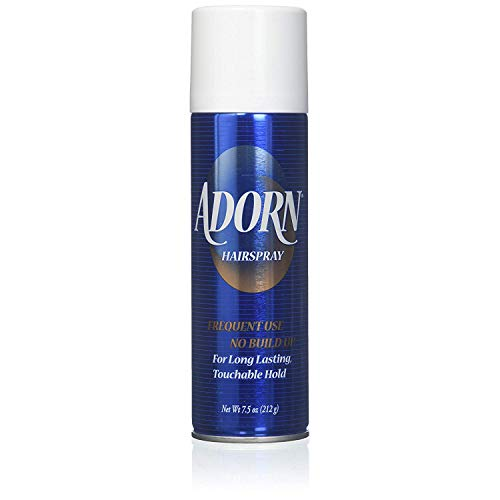 Adorn Hair Spray Aerosol Frequent Use 7.50 oz Pack of 10