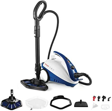 Polti Vaporetto Smart 40 Mop-Generador de Vapor con Cepillo mopa Integrado, 1800 W, 1.6 litros, 1.6, plástico, Acero Inoxidable, Azul: Amazon.es: Hogar