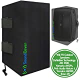 Two Sun Dust & Water Resistant Outdoor Speaker Covers Bags for Yamaha AW294, Definitive Technology AW 5500, Polk Audio Atrium 6, Yamaha AW350 & Bose 251 by SoundCover