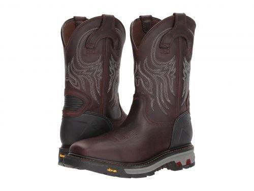 Justin(ジャスティン) メンズ 男性用 シューズ 靴 ブーツ 安全靴 ワーカーブーツ Warhawk Waterproof Soft Toe Brown [並行輸入品] B07DNQHCKZ 7 D Medium