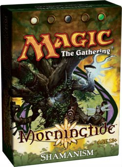 Magic the Gathering: MTG Lorwyn: Morningtide Theme Deck - Shamanism (White/Black/Green)