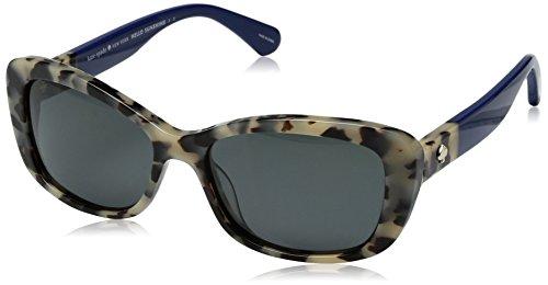 29574b4a1f6 Kate Spade Women s Claretta p s Polarized Rectangular Sunglasses