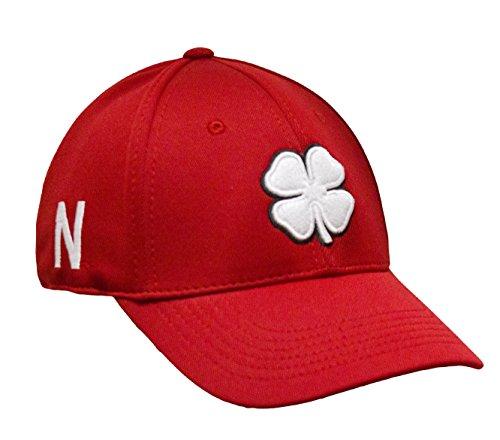 Black Clover Nebraska Premium Mens Hat Size L/XL (Nebraska Huskers Golf)