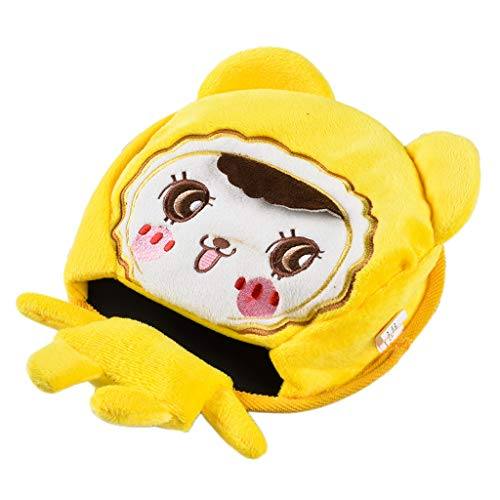 Price comparison product image Mlide Cartoon USB Power Heating Mouse Pad-Keep Warm in Winter Mouse Pad(Yellow)