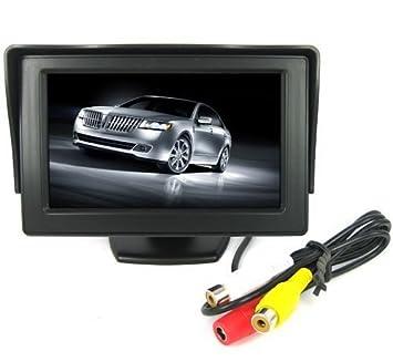 Monitor cuadrado digital TFT LCD para la parte trasera del coche de la marca BW®