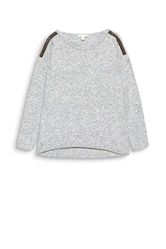 039 Femme Gris Pull Medium 5 Grey Esprit wx1f0vq5Y