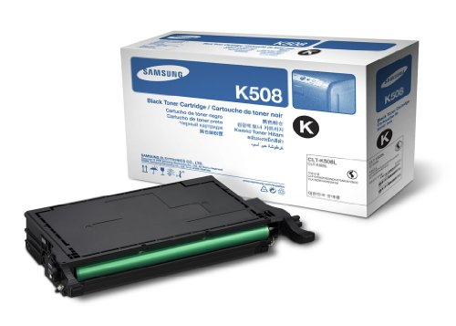 Samsung CLT-K508S 2500 Pages Yield Toner Cartridge Toner