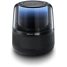 Harman Kardon Allure Voice-Activated Home Speaker with Alexa, Black