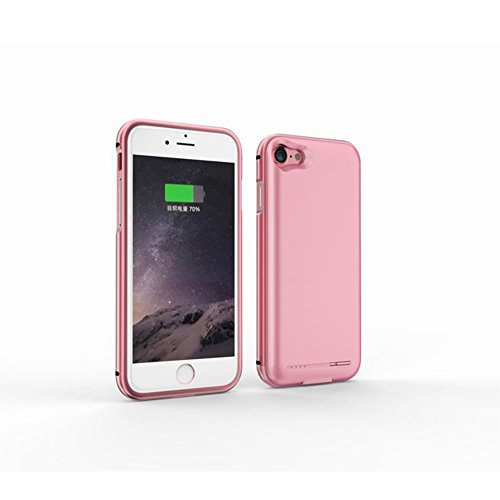 2800mah Power Case for iPhone 7 (Rose Gold) - 5