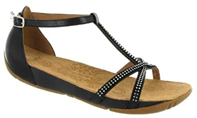 73c1cac23ea Image Unavailable. Image not available for. Colour  Clarks Shoes - Womens Clarks  Rona Sparkle Black Casual Sandals