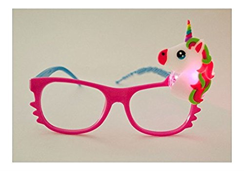 Toycamp 12/pk Flashing Lensless Assorted Unicorn Glasses LED SunGlasses Rave Party Wear by Toycamp (Image #7)