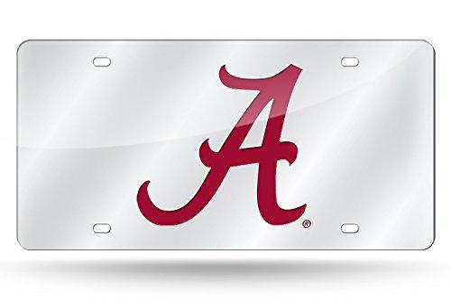 Alabama Crimson Tide Laser Cut Auto Tag, 12