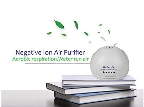 Air Purifier, Portable Negative Air Ionizer Ozone , Antech Air Freshener Remove Cigarette Smoke, Odor Smell, Bacteria, Mini Air Cleaner for for Bedroom, Refrigerator, Car, Traveling
