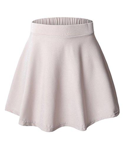 Womens-Versatile-Flared-Skater-Skirt