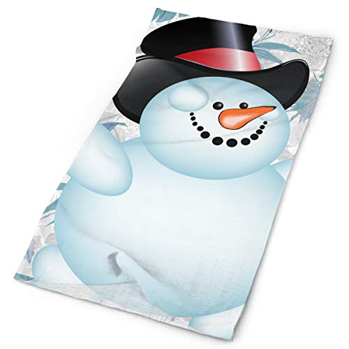 Frosty Snowman Original Headband with Multi-Function Sports and Leisure Headwear UV Protection Sports Neck, Sweat-Absorbent Microfiber Running, Yoga, Hiking