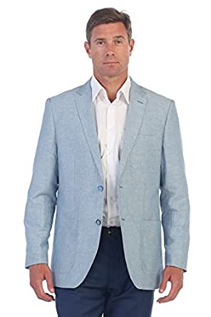 Gioberti Mens Linen Sports Coat Suit Jacket at Amazon Men ...